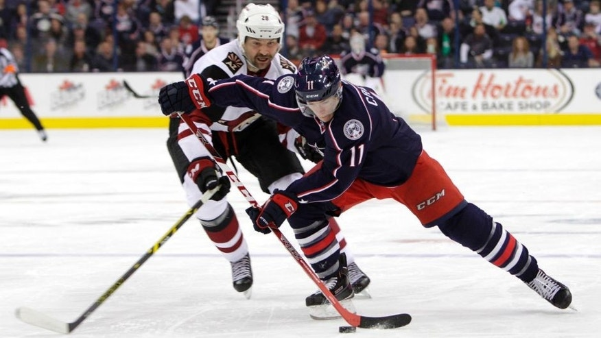 Coyotes Blue Jackets Hockey