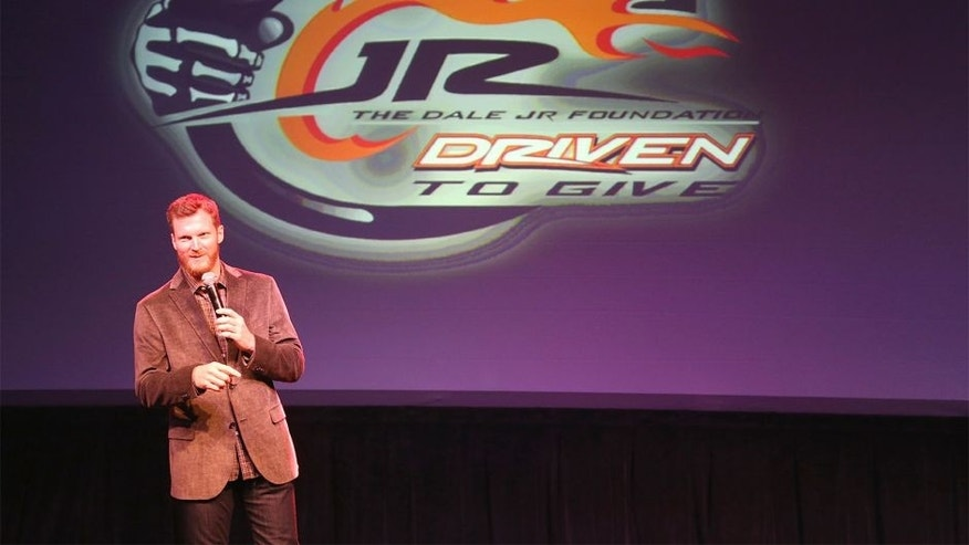 October 21, 2014: Dale Jr Foundation Dinner at the Fillmore in Charlotte NC. (HHP/Harold Hinson)