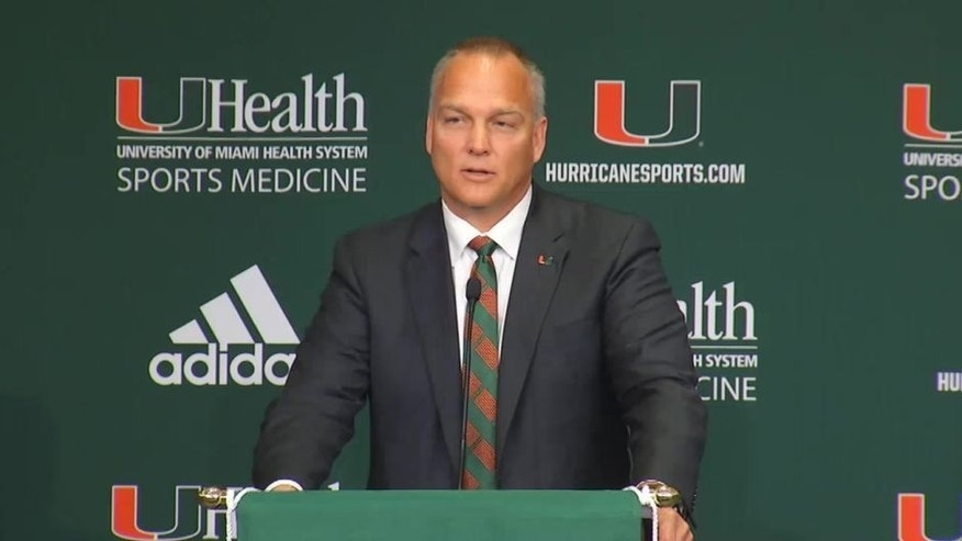 Mark Richt, who was introduced Friday morning as the new head football coach for the Hurricanes, says it feels good to be back home in Miami and that there are several factors that make him believe they can do big things, and soon.