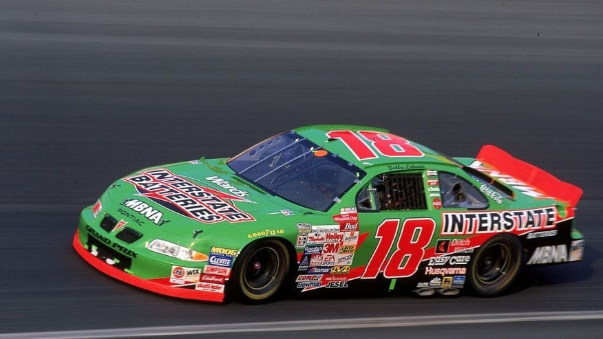 30 May 1999: Bobby Labonte is in action during the Coca-Cola 600, part of the NASCAR Winston Cup Series, at the Lowe's Motor Speedway in Concord, North Carolina. Mandatory Credit: Craig Jones /Allsport