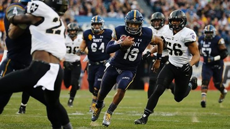 No 21 Navy Tops Army 21 17 For 14th Straight Win In