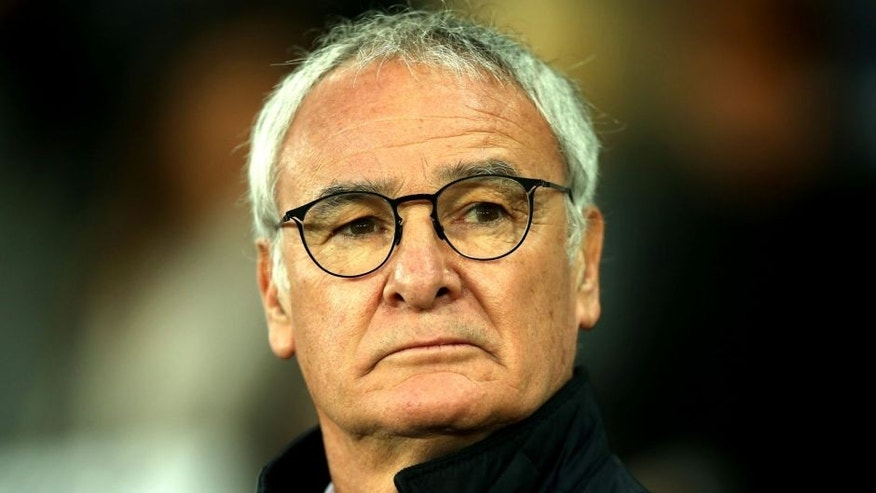 SWANSEA, WALES - DECEMBER 05: Claudio Ranieri Manager of Leicester City looks on prior to the Barclays Premier League match between Swansea City and Leicester City at Liberty Stadium on December 5, 2015 in Swansea, Wales. (Photo by Ben Hoskins/Getty Images)