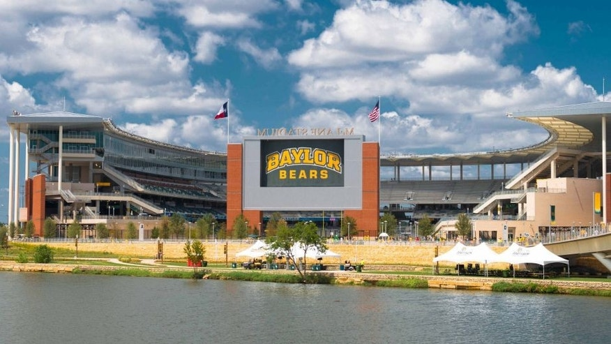 <p>Aug 31, 2014; Waco, TX, USA; A view of the stadium before the game between the Baylor Bears and the Southern Methodist Mustangs at McLane Stadium. Mandatory Credit: Jerome Miron-USA TODAY Sports</p>
