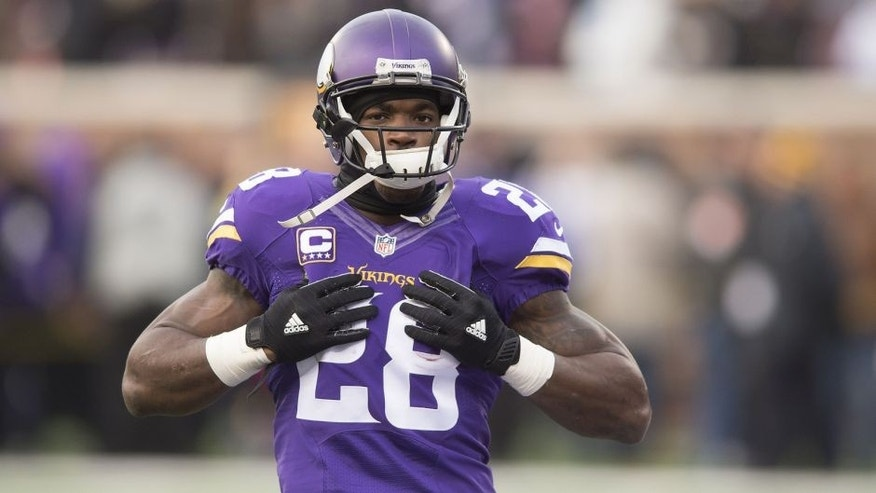 Vikings coach: Adrian Peterson's back will not keep him out