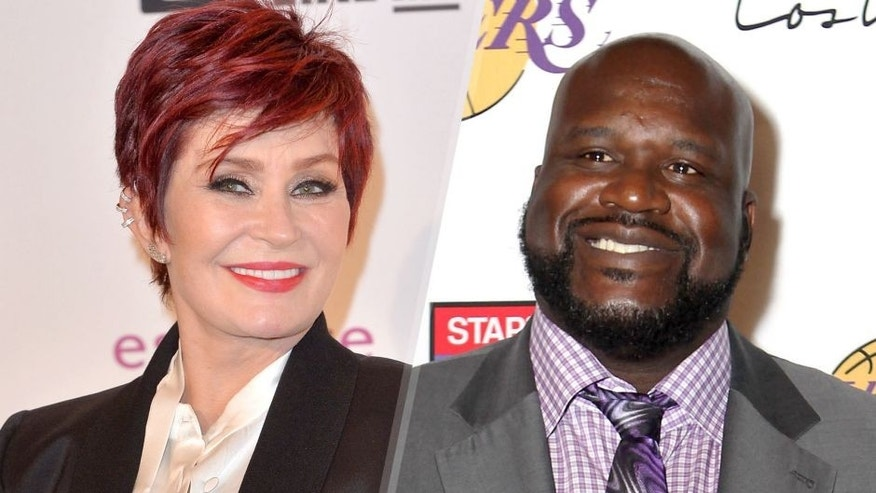 <p>GLASGOW, SCOTLAND - NOVEMBER 09: Sharon Osbourne poses in the winners room at the MTV EMA's 2014 at The Hydro on November 9, 2014 in Glasgow, Scotland. (Photo by Anthony Harvey/Getty Images for MTV)<br> LOS ANGELES, CA - JANUARY 25: Retired NBA player Shaquille O'Neal attended the 12th Annual Lakers All-Access at Staples Center on January 25, 2016 in Los Angeles, California. (Photo by Leon Bennett/FilmMagic)</p>