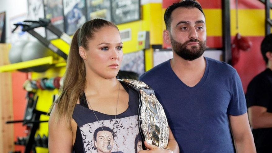 Ronda Rousey's Coach Suspended And Fined For Lying On Application