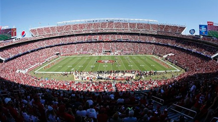 Levi's Stadium in Santa Clara, Calif., hosts Super Bowl 50 on Sunday, Feb. 7. (AP Foto/Tony Avelar, File)