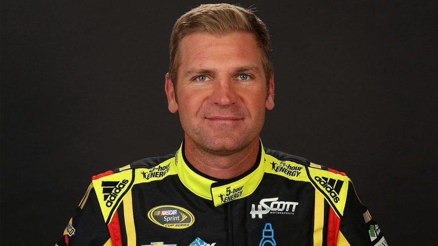 CHARLOTTE, NC - JANUARY 21: NASCAR Sprint Cup Series driver, Clint Bowyer, poses for a portrait during day 3 of the 2016 Charlotte Motor Speedway Media Tour at NASCAR Hall of Fame on January 21, 2016 in Charlotte, North Carolina. (Photo by Streeter Lecka/NASCAR via Getty Images)