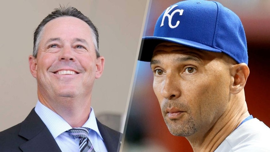 National Baseball Hall of Fame inductee Greg Maddux speaks during an induction ceremony at the Clark Sports Center on Sunday, July 27, 2014, in Cooperstown, N.Y. (AP Photo/Tim Roske) Aug 6, 2014; Phoenix, AZ, USA; Kansas City Royals outfielder Raul Ibanez against the Arizona Diamondbacks at Chase Field. Mandatory Credit: Mark J. Rebilas-USA TODAY Sports