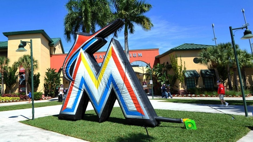 Mar 3, 2013; Jupiter, FL, USA; A general view of Roger Dean Stadium before a spring training game between the New York Mets and the Miami Marlins. Mandatory Credit: Steve Mitchell-USA TODAY Sports