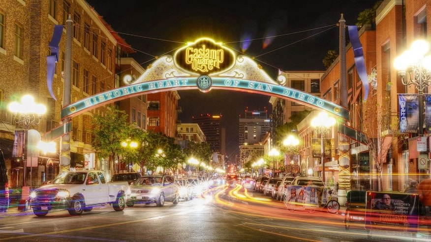 [UNVERIFIED CONTENT] The colorful Gaslamp Quarter in the historic heart of San Diego.