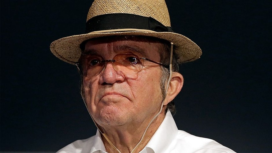 CHARLOTTE, NC - JANUARY 20: Car owner Jack Roush listens as his drivers talk to the media during the second day of the NASCAR 2016 Charlotte Motor Speedway Media Tour on January 20, 2016 in Charlotte, North Carolina. (Photo by Bob Leverone/NASCAR via Getty Images)