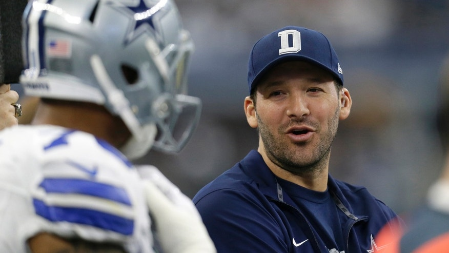 Dallas Cowboys' Tony Romo in a Jan. 3, 2016 file photo.