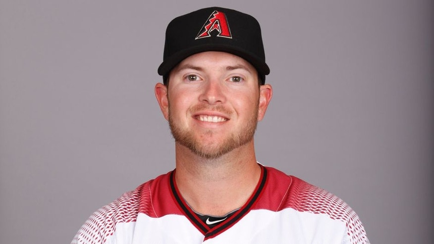 SCOTTSDALE, AZ - FEBRUARY 28: Evan Marshall #50 of the Arizona Diamondbacks poses during Photo Day on Sunday, February 28, 2016 at Salt River Fields at Talking Stick in Scottsdale, Arizona. (Photo by Jason Wise/MLB Photos via Getty Images)
