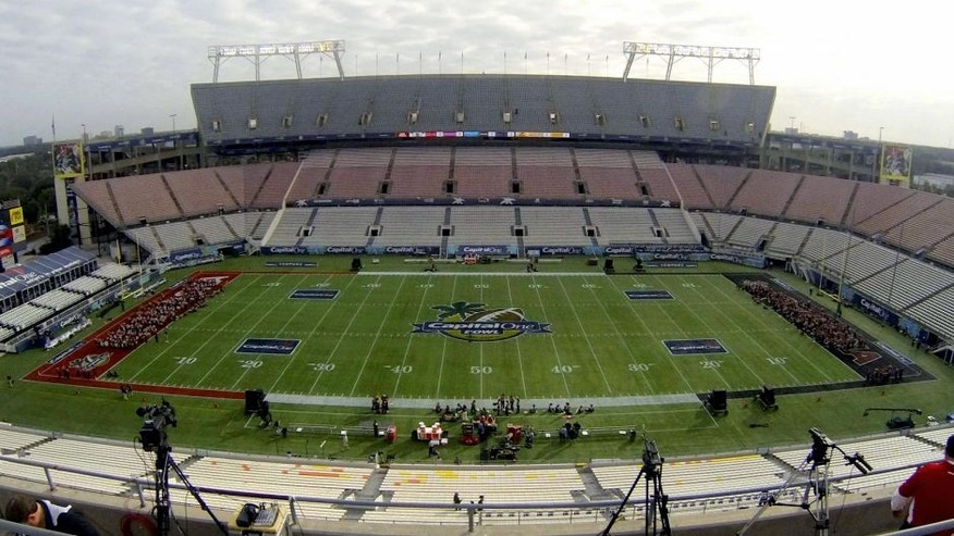 Jan 1, 2013; Orlando, FL, USA; A general view of the Citrus Bowl before the 2013 Capital One Bowl between the Georgia Bulldogs and the Nebraska Cornhuskers. Mandatory Credit: Douglas Jones-USA TODAY Sports