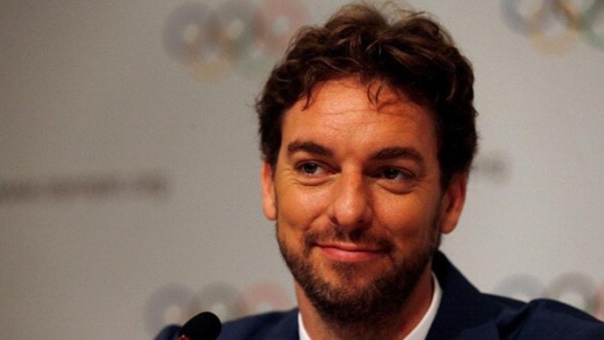 BUENOS AIRES, ARGENTINA - SEPTEMBER 07:  Spanish basketball player Pau Gasol during the 125th IOC Session - 2020 Olympics Host City Announcement at Hilton Hotel on September 7, 2013 in Buenos Aires, Argentina.  (Photo by Scott Halleran/Getty Images)