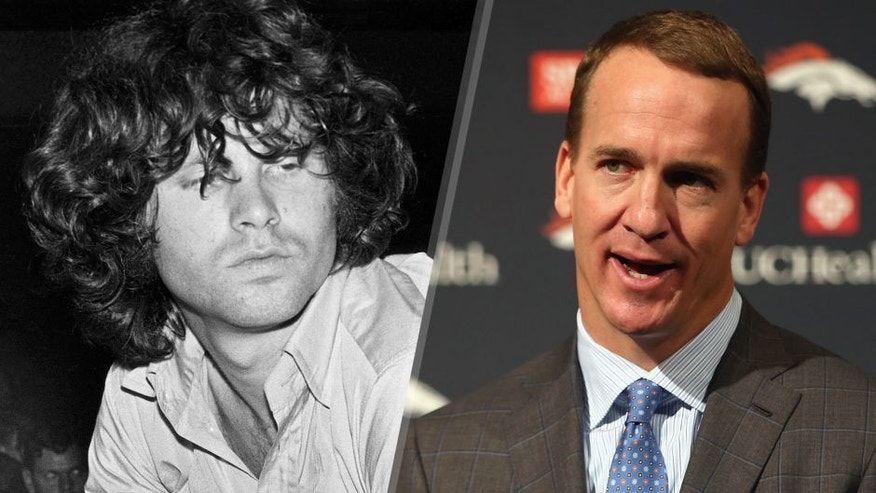 Photo of Jim MORRISON and DOORS; Jim Morrison live at the Star Club (Photo by K & K Ulf Kruger OHG/Redferns) Quarterback Peyton Manning addresses the media as he announces his retirement from the NFL at the UCHealth Training Center on March 7, 2016 in Englewood, Colorado. Manning, who played for both the Indianapolis Colts and Denver Broncos in a career which spanned 18 years, is the NFL's all-time leader in passing touchdowns (539), passing yards (71,940) and tied for regular season QB wins (186). Manning played his final game last month as the winning quarterback in Super Bowl 50 in which the Broncos defeated the Carolina Panthers, earning Manning his second Super Bowl title. (Photo by Doug Pensinger/Getty Images)