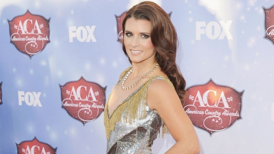 LAS VEGAS, NV - DECEMBER 10: NASCAR driver Danica Patrick arrives at the American Country Awards 2013 on December 10, 2013 in Las Vegas, Nevada. (Photo by Jon Kopaloff/FilmMagic,)