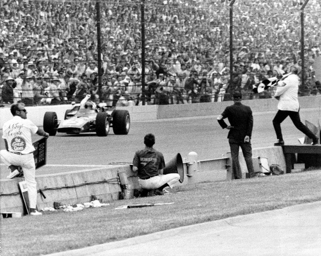 Highlights from the 54th running of the Indianapolis 500 ...