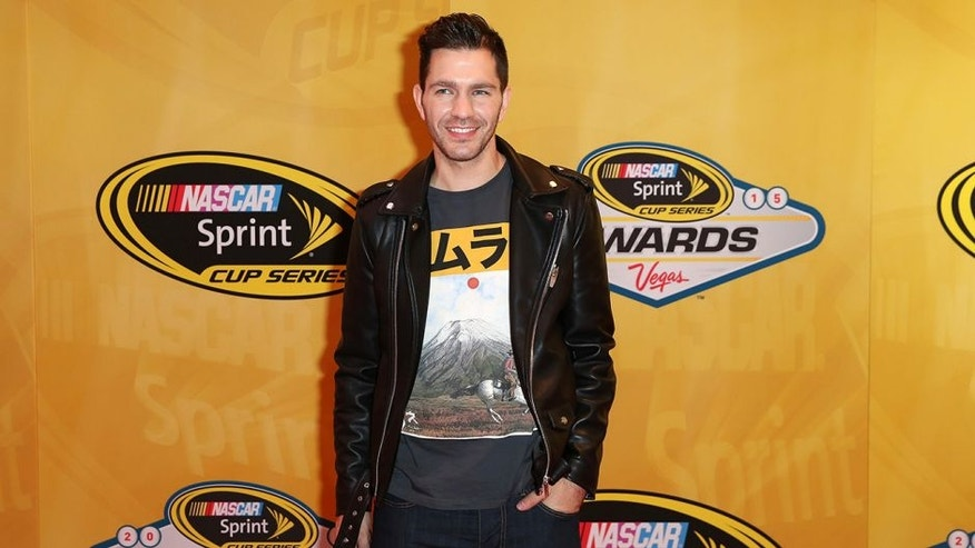 LAS VEGAS, NV - DECEMBER 04: Singer Andy Grammer attends the 2015 NASCAR Sprint Cup Series Awards at Wynn Las Vegas on December 4, 2015 in Las Vegas, Nevada. (Photo by Chris Graythen/NASCAR via Getty Images)