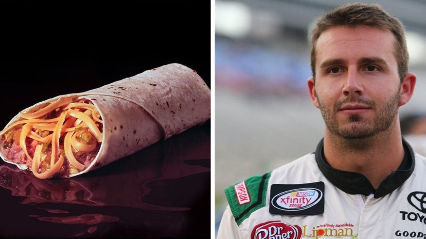A burrito on black background, 2000. (Photo by Tom Kelley/Getty Images)
