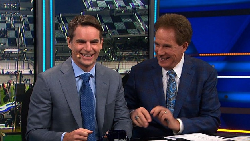 NASCAR RaceDay: NASCAR Sprint Cup Drivers offer some friendly advice to Jeff Gordon as he starts his new career in the booth.