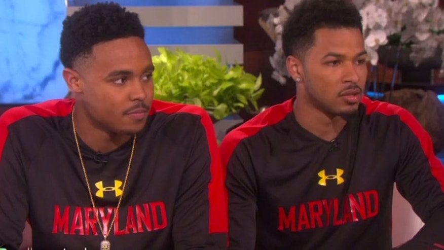 Maryland players Jared Nickens and Jaylen Brantley missed out on a $10,000 gift from Ellen Degeneres because of NCAA rules.
