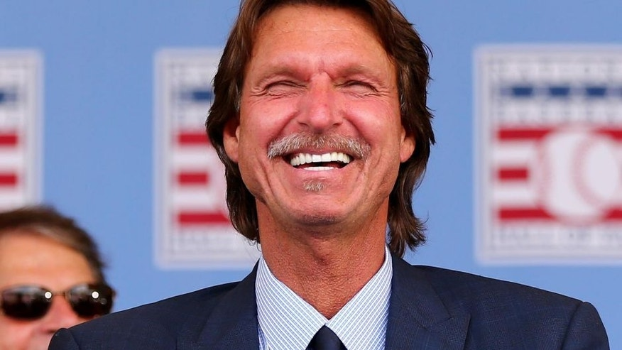at National Baseball Hall of Fame on July 26, 2015 in Cooperstown, New York.