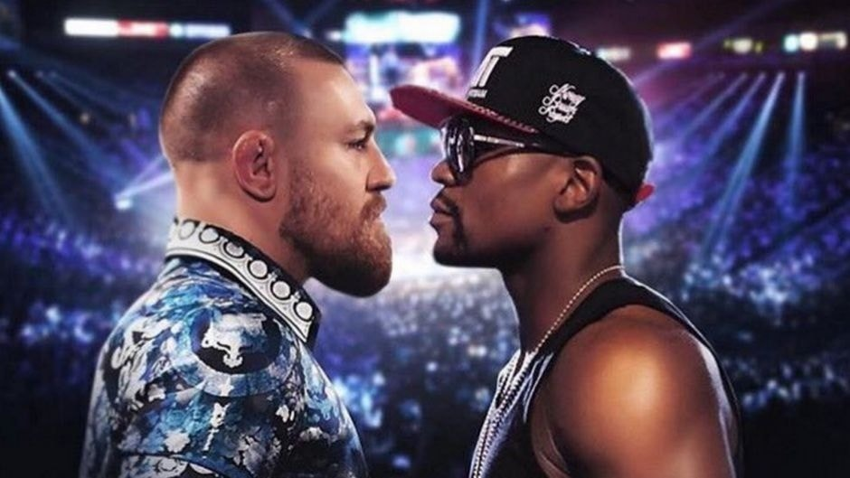 Conor McGregor shares poster for rumored Floyd Mayweather megafight
