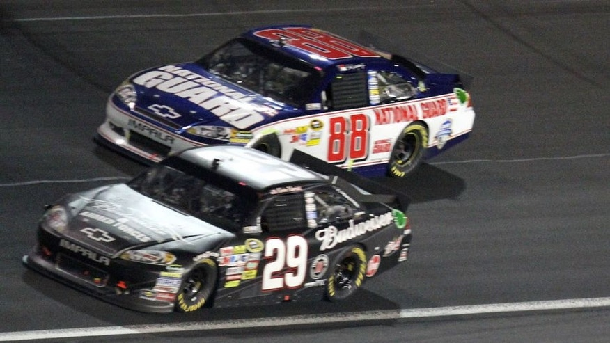 during the NASCAR Sprint Cup Series Coca-Cola 600 at Charlotte Motor Speedway on May 29, 2011 in Concord, North Carolina.
