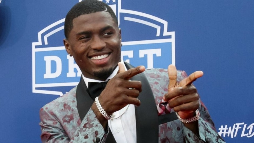 CHICAGO, IL - APRIL 28: Draftee Laquon Treadwell of Mississippi arrives to the 2016 NFL Draft at the Auditorium Theatre of Roosevelt University on April 28, 2016 in Chicago, Illinois. (Photo by Kena Krutsinger/Getty Images)
