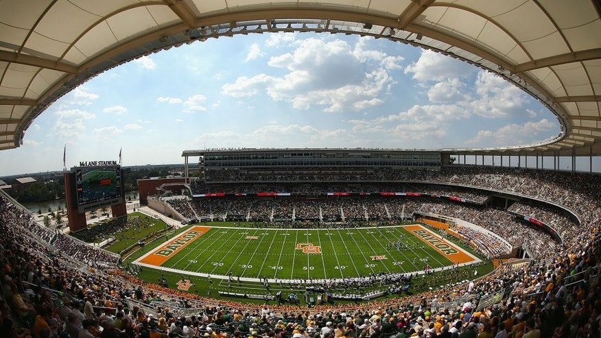 WACO, TX - OCTOBER 17: A general view as the Baylor Bears take on the West Virginia Mountaineers in the first quarter at McLane Stadium on October 17, 2015 in Waco, Texas. (Photo by Tom Pennington/Getty Images)