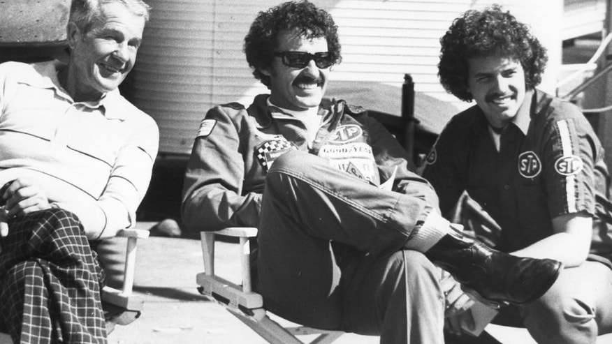 UNKNOWN: (L-R) Lee, Richard, and Kyle Petty. (Photo by ISC Archives via Getty Images)