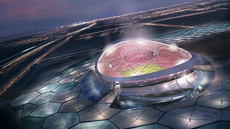 An artist's rendering of Lusail Iconic Stadium. The stadium's final design plans are still being worked out.