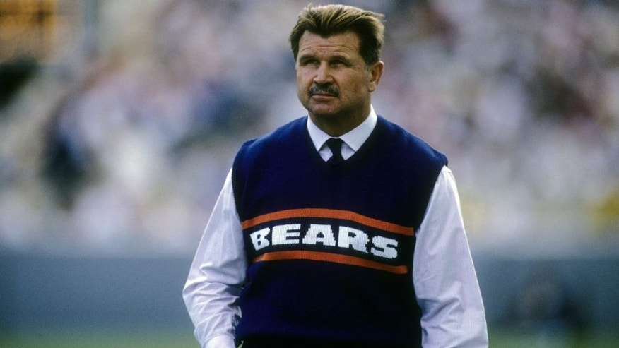<p>CHICAGO, IL - CIRCA 1980's: Head Coach Mike Ditka of the Chicago Bears on the field before a mid circa 1980's NFL football game at Soldier Field in Chicago, Illinois. Ditka was the head coach of the Bears from 1982-92. (Photo by Focus on Sport/Getty Images)</p>