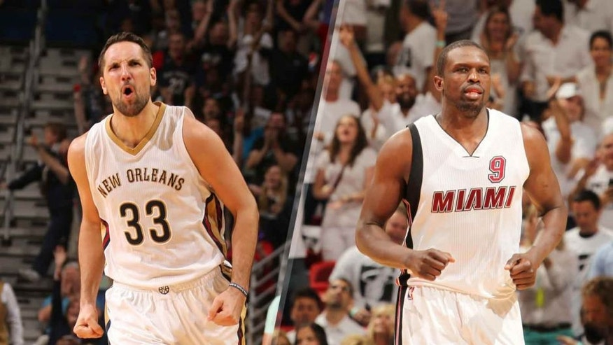 Ryan Anderson and Luol Deng are two free agents who could appeal to the Minnesota Timberwolves this offseason.