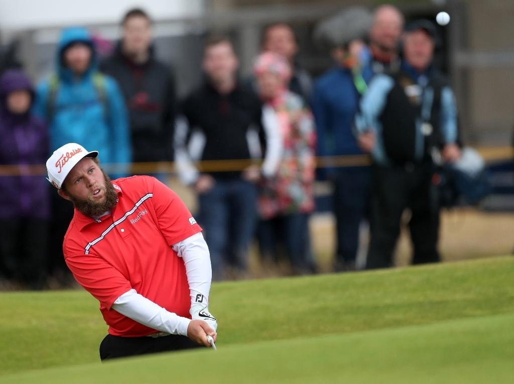 where u0026 39 s the beef  right on the british open leaderboard