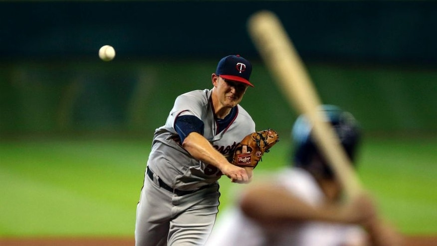 Sunday, Sept. 6: Minnesota Twins starting pitcher Tyler Duffey delivers a pitch during the fourth inning against the Houston Astros at Minute Maid Park.