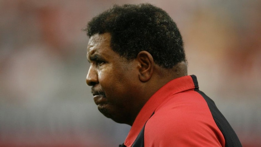 Arizona Cardinals head coach Dennis Green. The Kansas City Chiefs defeated the Arizona Cardinals by a score of 23 to 20 at Cardinals Stadium, Glendale, AZ, October 8, 2006. (Photo by Rich Gabrielson/NFLPhotoLibrary)
