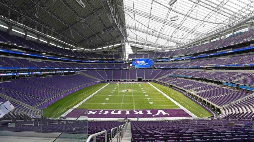Construction on U.S. Bank Stadium ultimately cost nearly $1.1 billion.