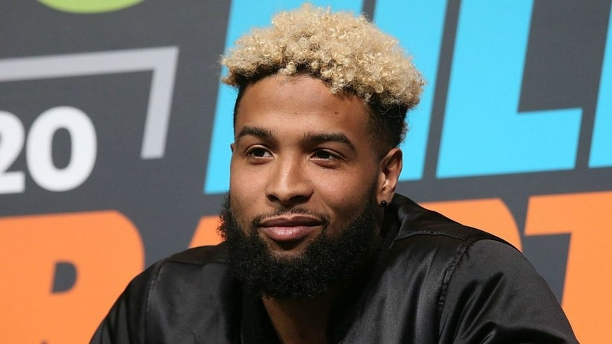 AUSTIN, TX - MARCH 13: Odell Beckham Jr. attends SXSports at the SXSW Film-Interactive-Music festival at Austin Convention Center on March 13, 2016 in Austin, Texas. (Photo by Gary Miller/Getty Images)