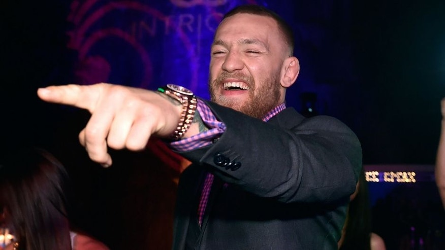 LAS VEGAS, NV - JULY 10: Mixed martial artist Conor McGregor attends his birthday celebration at Intrigue Nightclub at Wynn Las Vegas early July 10, 2016 in Las Vegas, Nevada. (Photo by David Becker/Getty Images for Wynn Las Vegas)