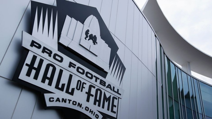 CANTON, OH - AUGUST 9: General view of the exterior of the Pro Football Hall of Fame prior to the NFL Hall of Fame Game between the Pittsburgh Steelers and Minnesota Vikings at Tom Benson Hall of Fame Stadium on August 9, 2015 in Canton, Ohio. (Photo by Joe Robbins/Getty Images)