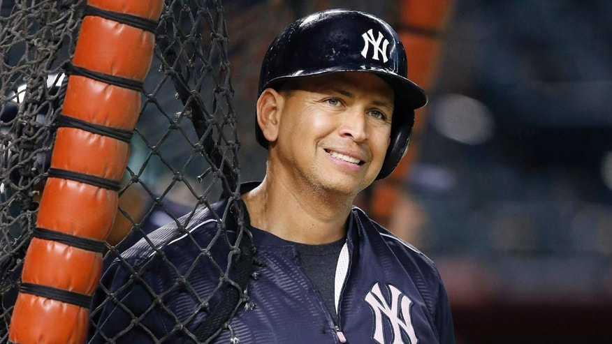 Alex Rodriguez on Wednesday, May 18, 2016, in Phoenix.