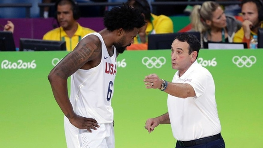 US gets by France 100-97 in Rio basketball