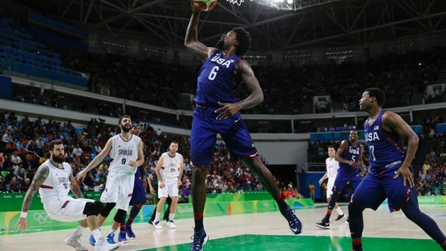 US romps to men's basketball gold, beats Serbia 96-66 ...