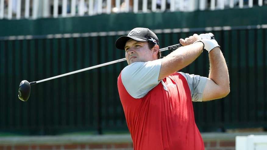Patrick Reed builds a 2-shot lead at Bethpage Black