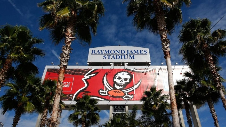 TAMPA, FL - DECEMBER 30: A general view outside Raymond James Stadium before the game between the Tampa Bay Buccaneers and Carolina Panthers on December 30, 2007 in Tampa, Florida. The Panthers defeated the Bucs 31-23. (Photo by Joe Robbins/Getty Images)