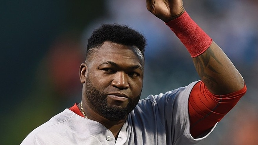 Boston Red Sox David Ortiz on Thursday, Sept. 22, 2016, in Baltimore.