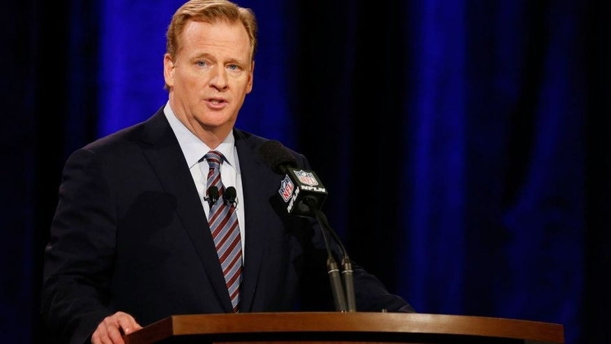 NFL commissioner Roger Goodell in January 2015.